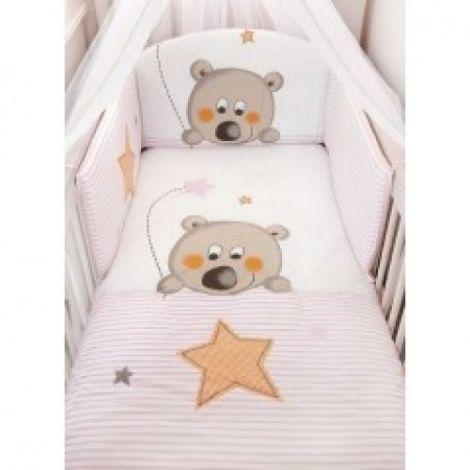 Σετ προίκας Baby Oliver, Star Bear Pink 622
