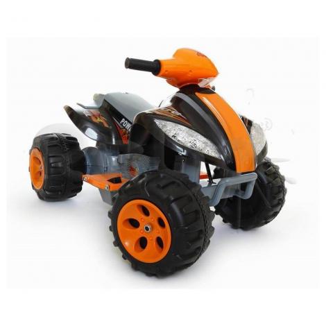 MIKO Ηλεκτροκίνητη γουρούνα 6V, N-03 σε μαύρο/πορτοκαλί