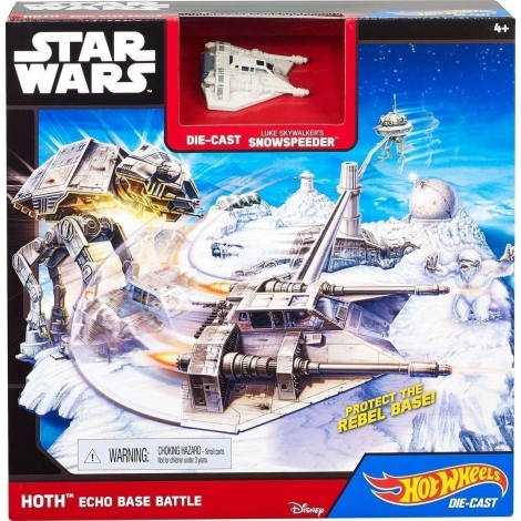 Hot Wheels Star Wars Hoth - Echo Base Battle, CGN34
