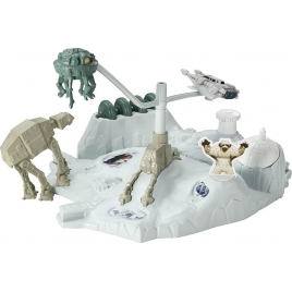 Hot Wheels Star Wars Hoth - Echo Base Battle, CGN34