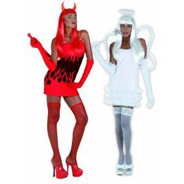 Αποκριάτικη στολή Άγγελος-Διάβολος 2 σε 1 70127