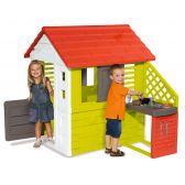 Σπίτι κήπου, Smoby Nature Playhouse με κουζίνα 810713