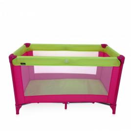 27c04e4ff93 ... Παρκοκρέβατο MIKO P618-2, Pink & Green