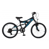 """Ποδήλατο Orient S-300 24"""" SUSP 151225 Black"""