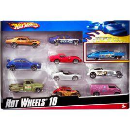 Hot Wheels Αυτοκινητάκια Σετ Των 10, 54886