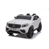 ΜΙΚΟ Ηλεκτροκίνητο Mercedes Benz 12V, GLC63S Διθέσιο με τηλεχειριστήριο σε άσπρο BJ608