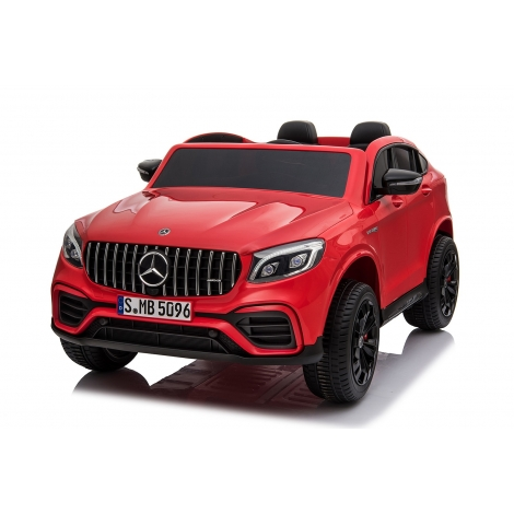 ΜΙΚΟ Ηλεκτροκίνητο Mercedes Benz 12V, GLC63S Διθέσιο με τηλεχειριστήριο σε κόκκινο BJ608