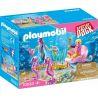 Playmobil Starter Pack Άμαξα με Ιππόκαμπους 70033