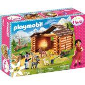 Playmobil Ο Πέτερ και η γιαγιά στη στάνη με τις κατσικούλες του 70255