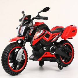MIKO Ηλεκτροκίνητη μηχανή 12V BJQ8100 Red