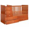 Πολυμορφικό κρεβάτι Polini Kids, Simple 1000 σε καρυδί