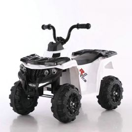 MIKO Ηλεκτροκίνητη γουρούνα 6V BJR3201 White