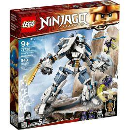 Lego Ninjago Legacy Zanes Titan Mech Battle Ninja 71738
