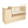 Πολυμορφικό κρεβάτι Polini Kids, Simple 1100 σε φυσικό