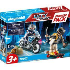 Playmobil StarterPack Αστυνομική Καταδίωξη 70502