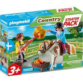 Playmobil StarterPack Φροντίζοντας Το Άλογο 70505