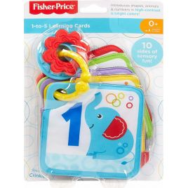 Fisher Price Μαλακές Κάρτες 1 Έως 5 GFX90