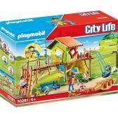 Playmobil City Life Διασκέδαση Στην Παιδική Χαρά 70281