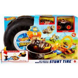 Hot Wheels Monster Trucks Πίστα Super Ρόδα GVK48