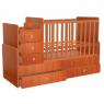 Πολυμορφικό κρεβάτι Polini Kids, Simple 1100 σε καρυδί