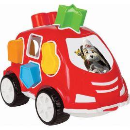 Pilsan Αυτοκινητάκι Με Σχήματα Κόκκινο 03-187