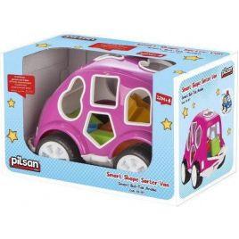 Pilsan Αυτοκινητάκι Με Σχήματα 03-187 Pink