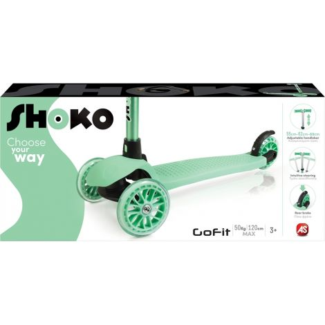 AS Company Πατίνι Shoko Twist & Roll Go Fit Green 5004-50501