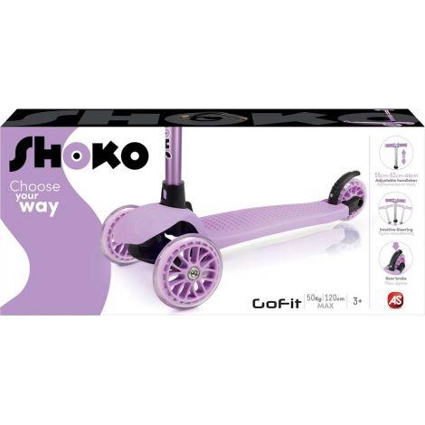 AS Company Πατίνι Shoko Twist & Roll Go Fit Purple 5004-50502