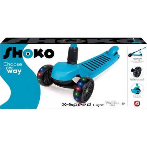 AS Company Πατίνι Shoko Twist & Roll Xspeed Blue 5004-50503