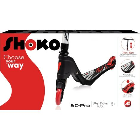 AS Company Πατίνι Shoko SC-Pro Red 5004-50507