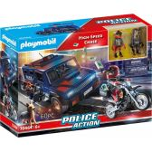 Playmobil Αστυνομική Επιχείρηση Σύλληψης Ληστών 70464