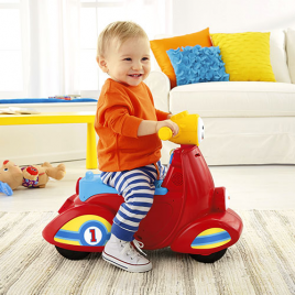 Fisher Price Εκπαιδευτικό Scooter Smart Stages, DHN78