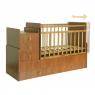 Πολυμορφικό κρεβάτι Polini Kids, Simple 1100 σε οξιά