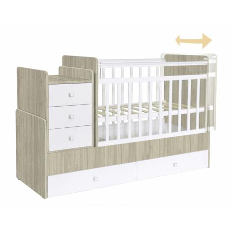 Πολυμορφικό κρεβάτι Polini Kids, Simple 1100 σε ulme