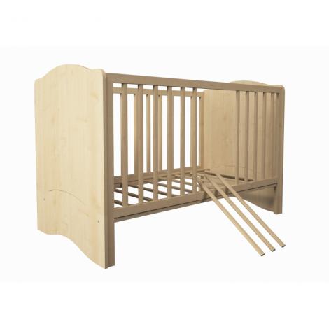 Προεφηβικό Κρεβάτι Polini Kids, Simple 140X70 Natural