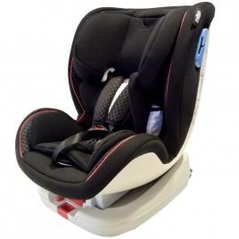 Κάθισμα Αυτοκινήτου MIKO 0-25kg Isofix+Top Tether, YB103A Black/Black