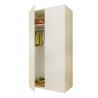 Παιδική Ντουλάπα Polini Kids, Simple 2-πόρτες λευκή