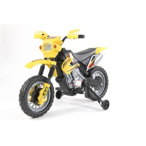 ΜΙΚΟ Ηλεκτροκίνητη NEW ENDURO 6V, JT014 κίτρινη