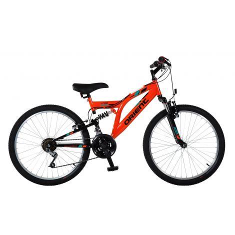 """Ποδήλατο Orient Comfort 20"""" SUSP 151147 Orange/Black"""